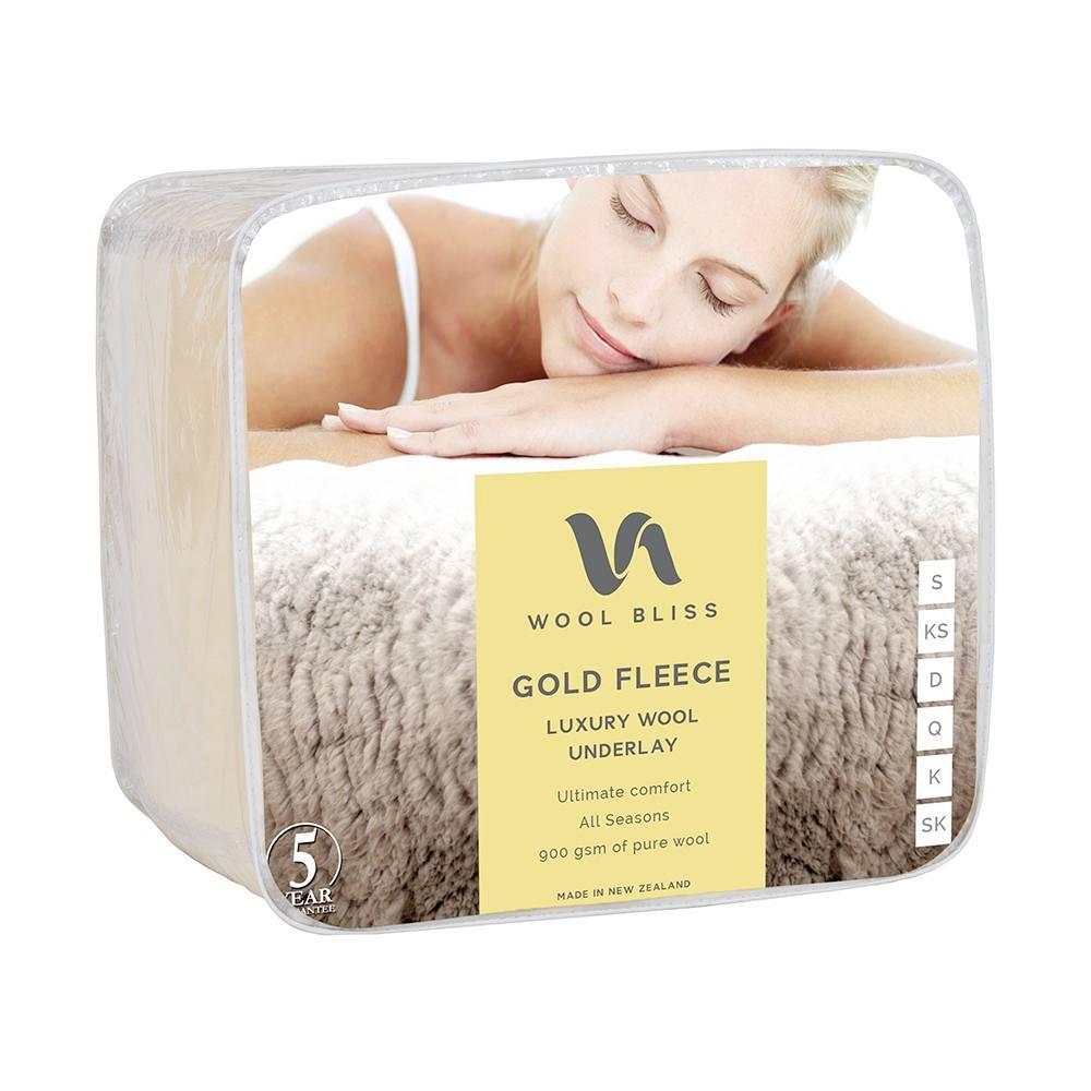 Gold Fleece – Wool Underlay