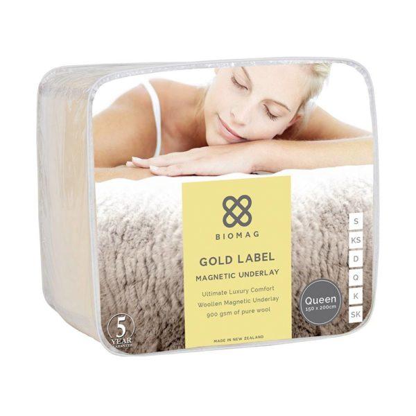 Wool Magnetic Underlay - Gold Label Biomag
