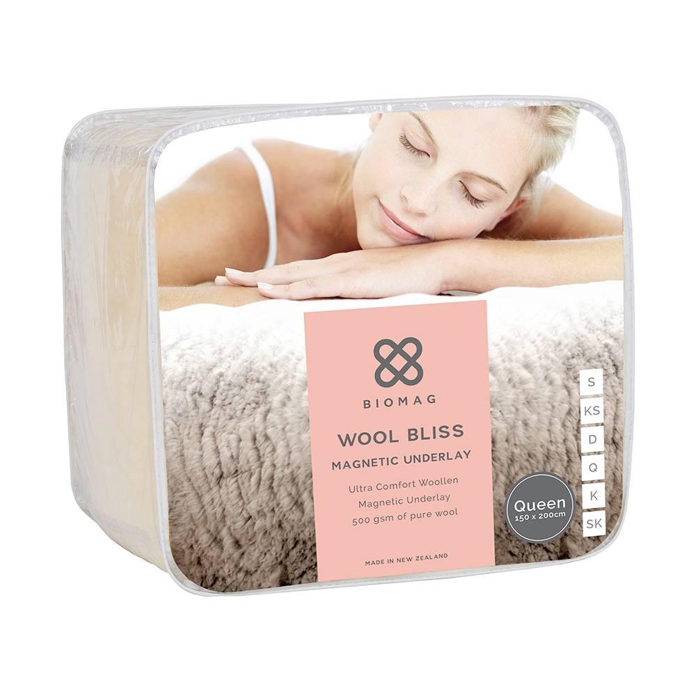 Wool Magnetic Underlay - Wool Bliss Biomag