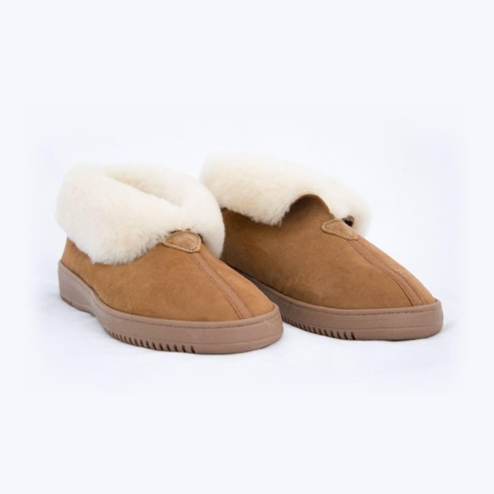 Women's-Sheepskin-Slippers-Magnetic